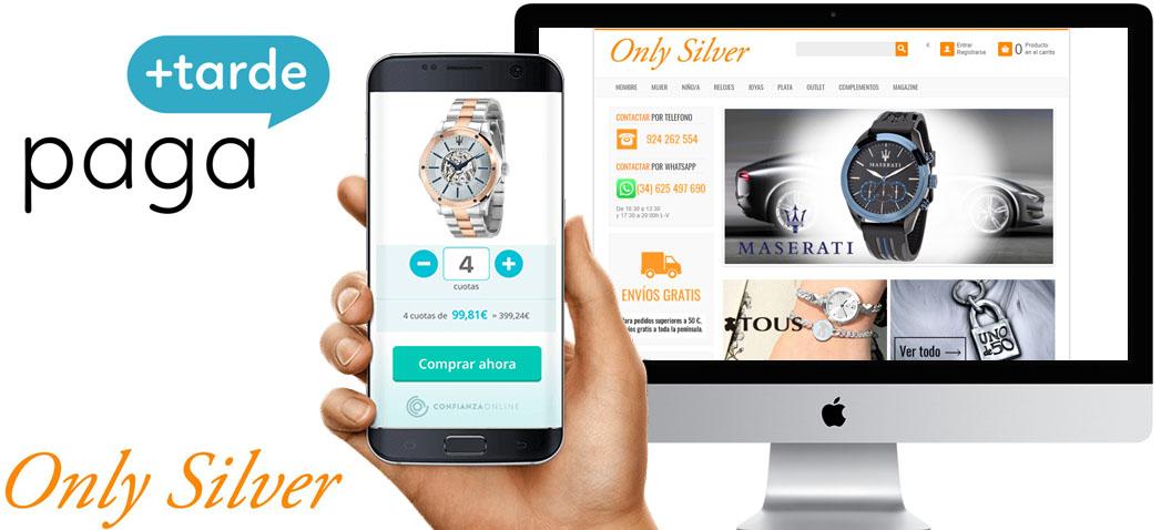 ad3847c0e325 Financiar tus compras - OnlySilver