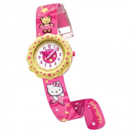 RELOJ FLIK FLAK HELLO KITTY...
