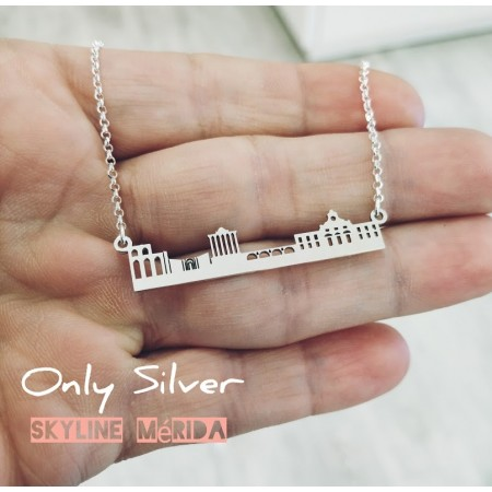 COLLAR SKYLINE MERIDA PLATA