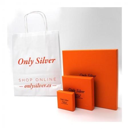 Cajas de presentación de Only Silver para envío de joyas personalizadas